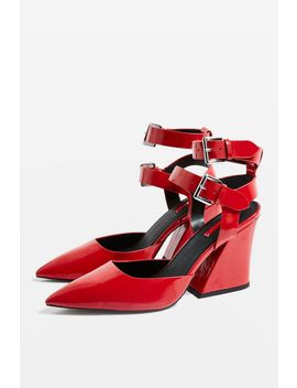 Gamma Double Strap Court Shoes by Topshop