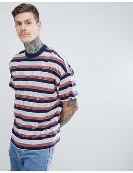Asos Design Oversized Striped T Shirt by Asos Design