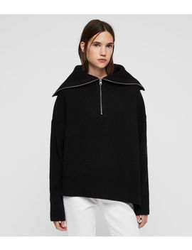 Ami Roll Neck Sweater by Allsaints