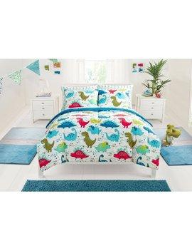 Mainstays Kids Dino Roar Bed In A Bag Bedding Set by Mainstays Kids
