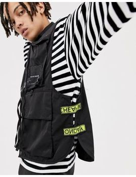 Cheap Monday Taped Service Vest by Cheap Monday