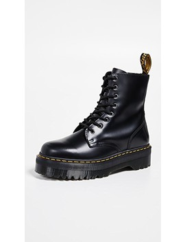 Jadon Polished 8 Eye Boots by Dr. Martens