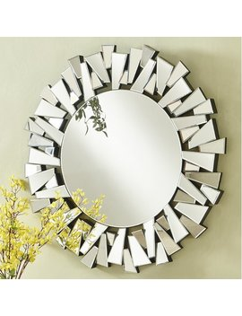 Latitude Run Wheless Contemporary Round Accent Mirror & Reviews by Latitude Run