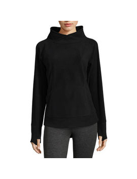 St. John's Bay Active Long Sleeve Sweatshirt by Sjb Active