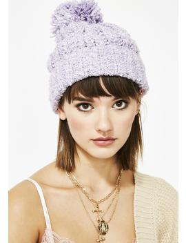 Sugarcoated Cutie Pom Pom Beanie by Ana Accessories