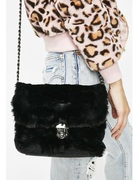 Luxe Lady Faux Fur Bag by Joia