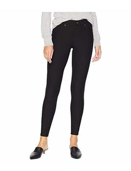 Fleece Lined Denim Leggings by Hue
