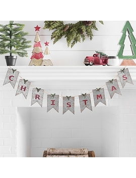 Galvanized Metal Christmas Banner by Kirkland's