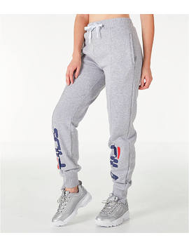 Women's Fila Alessia Reconstructed Fleece Jogger Sweatpants by Fila