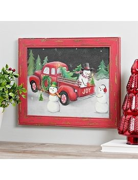Christmas On Wheels Framed Art Print by Kirkland's