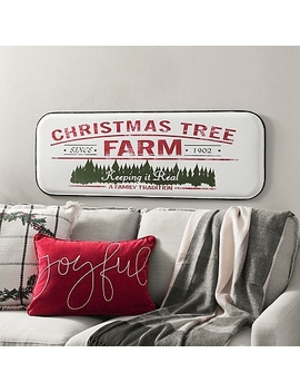 Metal Christmas Tree Farm Wall Plaque by Kirkland's