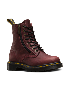 1460 Zip Pascal Grizzly by Dr. Martens