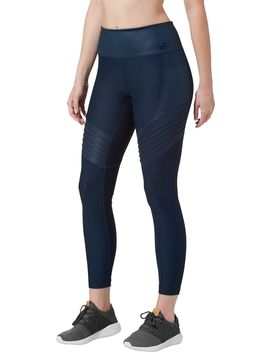 New Balance Women's Captivate 7/8 Moto Tights by New Balance