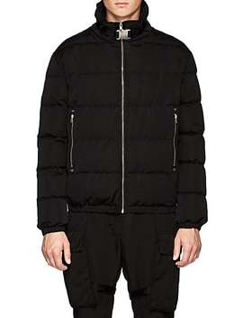 Down Quilted Moto Puffer Jacket by Alyx