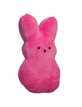Peeps Large 15 Inch Plush Peeps Bunny Cute Rabbit Pillow Soft Stuffed Animal Toy Cushion by Peeps