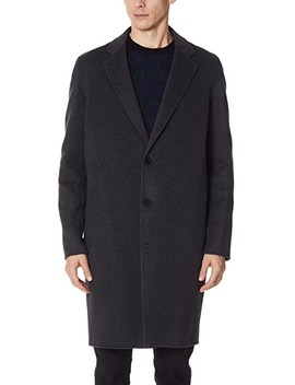 Notch Lapel Coat by Vince