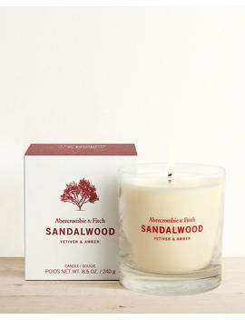 Sandalwood Candle by Abercrombie & Fitch
