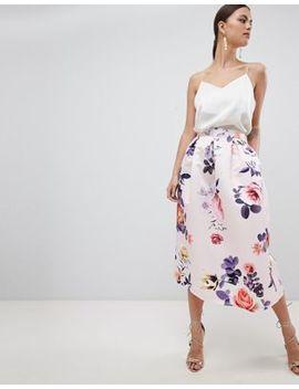 Closet London Floral Skirt by Closet