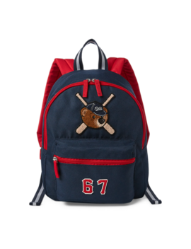 Bear Patch School Backpack by Ralph Lauren