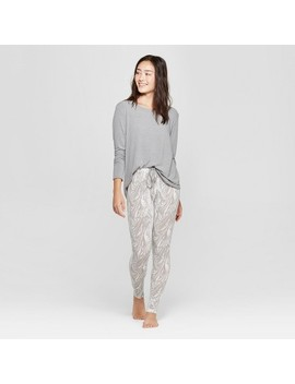 Women's Cozy Pajama Set   Xhilaration™ Gray by Xhilaration™