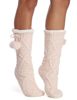 Cute & Cozy Knit Socks by Windsor