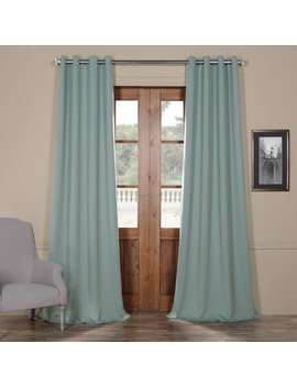 Exclusive Fabrics Grommet Blackout Curtain by Exclusive Fabrics