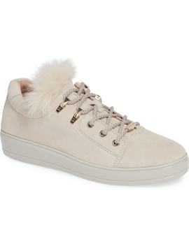 Georgy Faux Fur Trim Weatherproof Sneaker by Taryn Rose