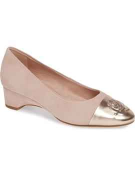 Babe Cap Toe Pump by Taryn Rose