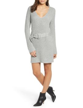 Belted Sweater Dress by Leith