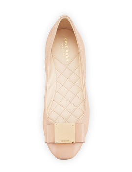 Tali Modern Grand Bow Ballet Flats by Cole Haan