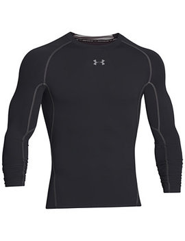 Men's Heat Gear® Long Sleeve Compression Shirt by Under Armour