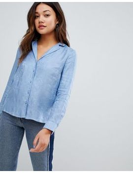 New Look Printed Pj Style Shirt by New Look