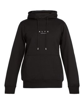 Recycled Cotton Blend Hooded Sweatshirt by 1017 Alyx 9 Sm