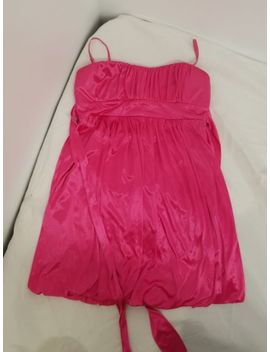 Ruby Rox Bubble Gum Pink Hot Pink Spaghetti Strap Mini Dress Size L by Ruby Rox