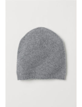 Knit Cashmere Hat by H&M