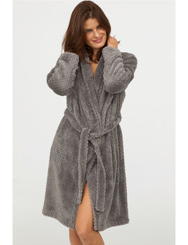 Pile Bathrobe by H&M
