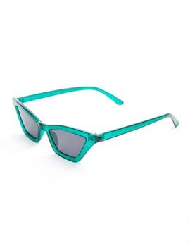 Green Miller Sunglasses by Glassons