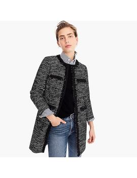 Tweed Lurex® Lady Coat With Braided Trim by Tweed Lurex