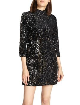 Keep Your Heads Up Sequin Shift Dress by Sanctuary