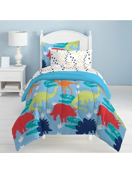 Dream Factory Dinosaur Bed In A Bag Bedding Set by Dream Factory