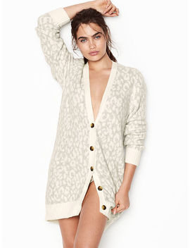 Leopard Cardigan by Victoria's Secret
