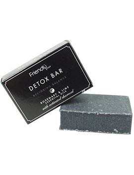 Friendly Soap Natural Activated Charcoal Detox Bar Soap 95g by Friendly Soap