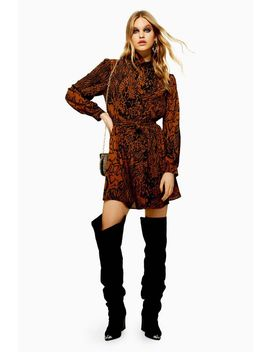 Snake Shirt Dress by Topshop