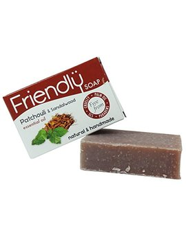 Friendly Soap Natural Patchouli & Sandalwood Soap 95g by Friendly Soap