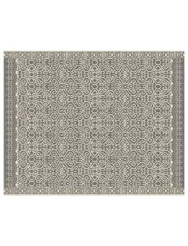 Luna Custom Tufted Rug   Silver by Pottery Barn