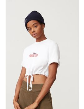 Daria Crop Sweatshirt by Fila