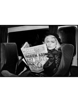 Women Are Just Slaves   Blondie   Debbie Harry   Vintage   Photo   Print   Photography   Pop Culture   Music   Rock   Singer   Musician  Art by Etsy