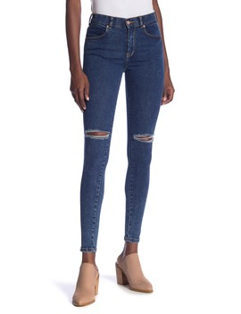 Lexy Distressed High Rise Super Skinny Jeans by Dr. Denim Supply Co