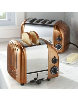 Dualit © New Gen Copper Toasters by Crate&Barrel