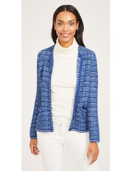 Andre Tweed Cardigan by J.Mc Laughlin